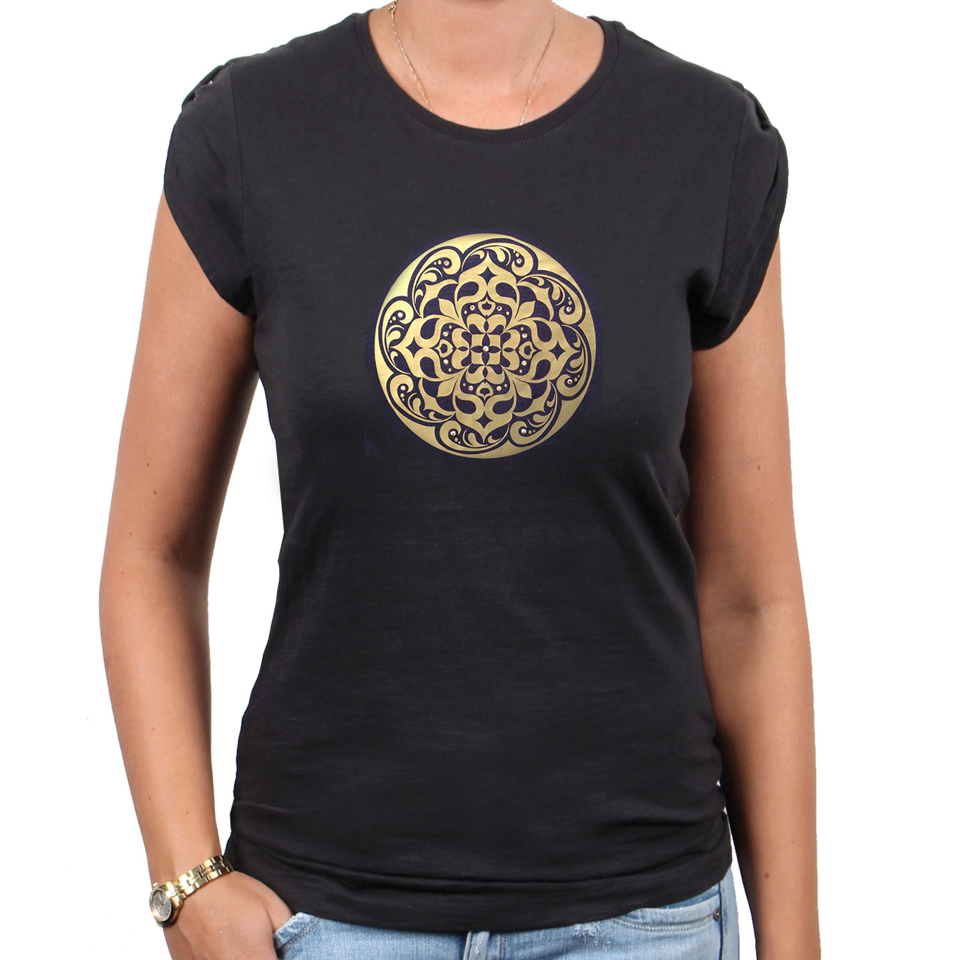 Shirtlion_too_chic_mandala2_gold_grau